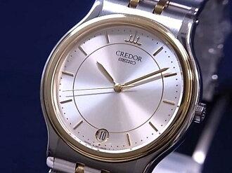 Credor SS×YG bezel quartz movement SEIKO Seiko 8J86