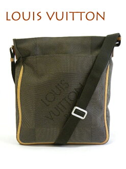 LOUIS VUITTON Louis Vuitton M93045 Damier-Geant companion Messenger bag tail