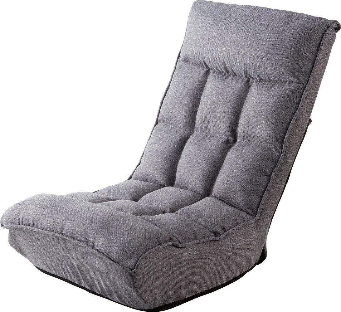 武田コーポレーション ポケットコイル入り シアター座椅子 GLY(グレー) YDBY-08GLY 【〇】