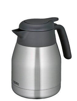 thermos stainless steel pot 1.0L THS-1000 SBK (stainless steel black)