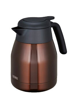 Thermos stainless steel 1.0 L THS-1000 CBW (-clear Brown