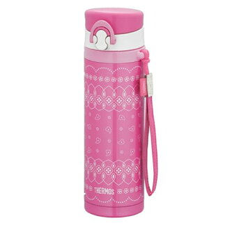 thermos vacuum insulation girls mobile phone mug pink JNG-500 P