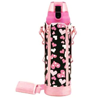 Skater direct sports bottle 1 l cover with heart