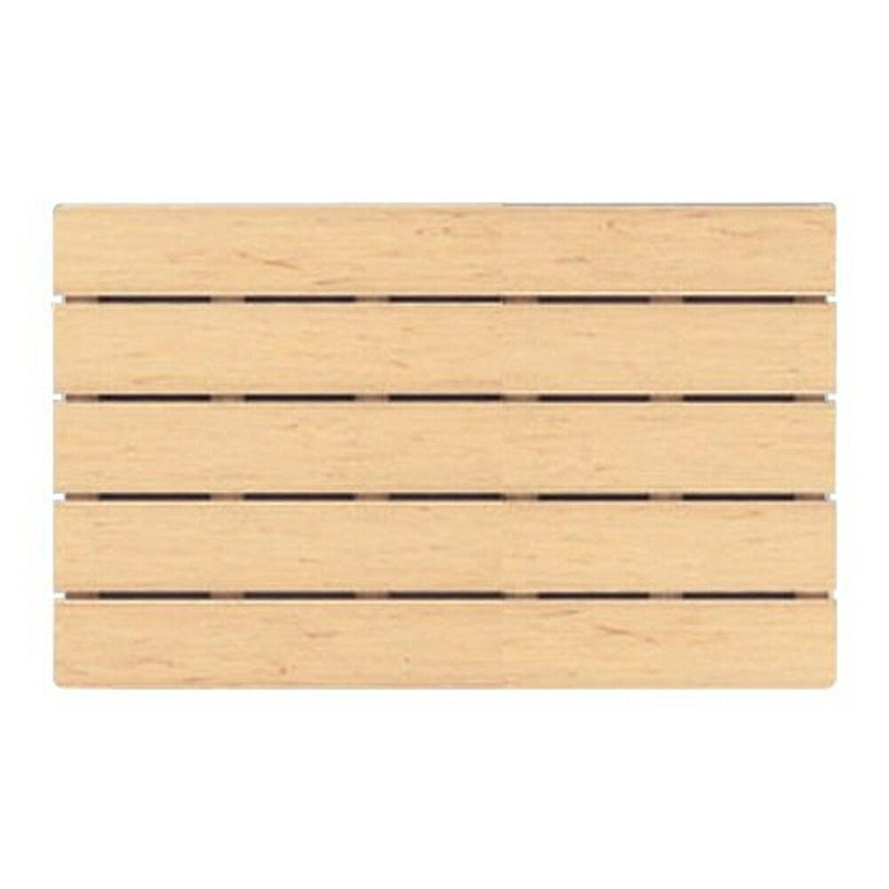 オーエ 風呂すのこ 板 木目 E 50×80cm(浴室用 バスマット)