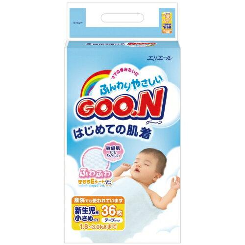 GOO.N大王新生儿维生素E系列纸尿裤36片