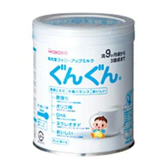 It is 300 g Wakodo follow-up milk rapidly