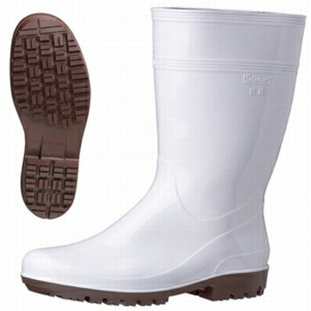 ミドリ安全 耐滑抗菌長靴ハイグリップ HG2000Nスーパー ホワイト 23.5cm