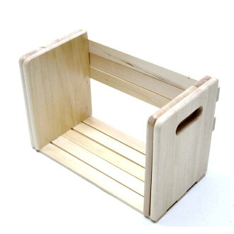 Wooden slide bookstand NA bookends