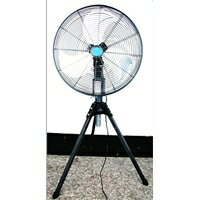 Three pieces of electric fan aluminum feather 45cm industry fan IF-450S for IF stands type factory fan duties