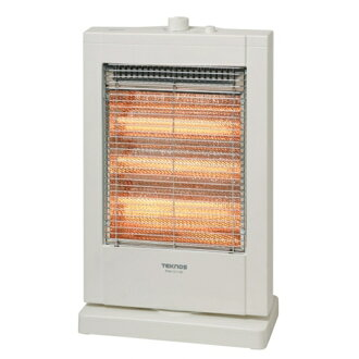 TEKNOS technos straight tube type halogen heater 1200 W white PH-1211 (W)