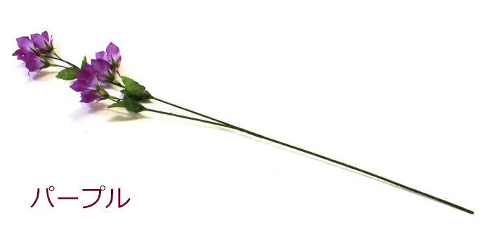 キキョウのスプレー24本入 造花 シルクフラワーの紹介画像2