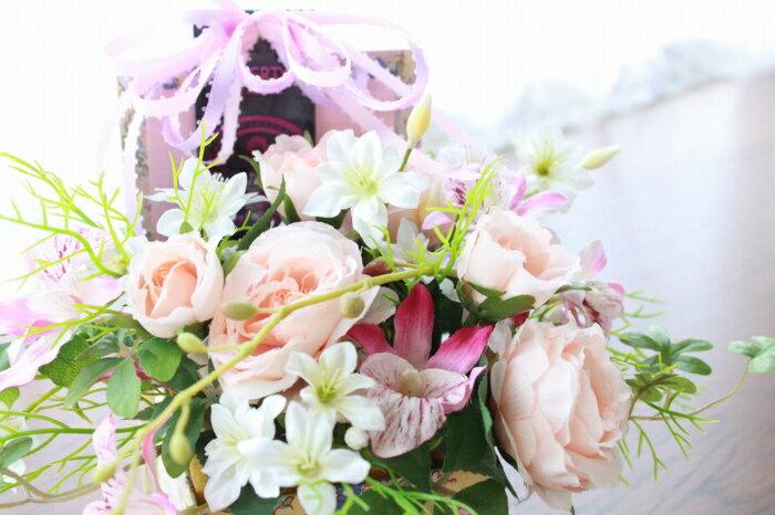 造花 カールローズとダンシングオーキッドのリバ...の紹介画像3