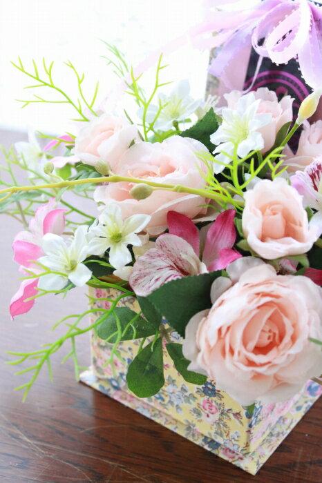 造花 カールローズとダンシングオーキッドのリバ...の紹介画像2