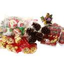 クリスマスオーナメント&ディスプレイアイテム たっぷりアソートセット クリスマス ツリー リース キャンドルスタンドアウトレット