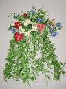 【送料無料】夏のインテリアグリーン【CT触媒】ホワイトポトスとアンスリウムの超ジャンボな壁掛け【観葉植物】【楽ギフ_包装】【smtb-TD】【saitama】
