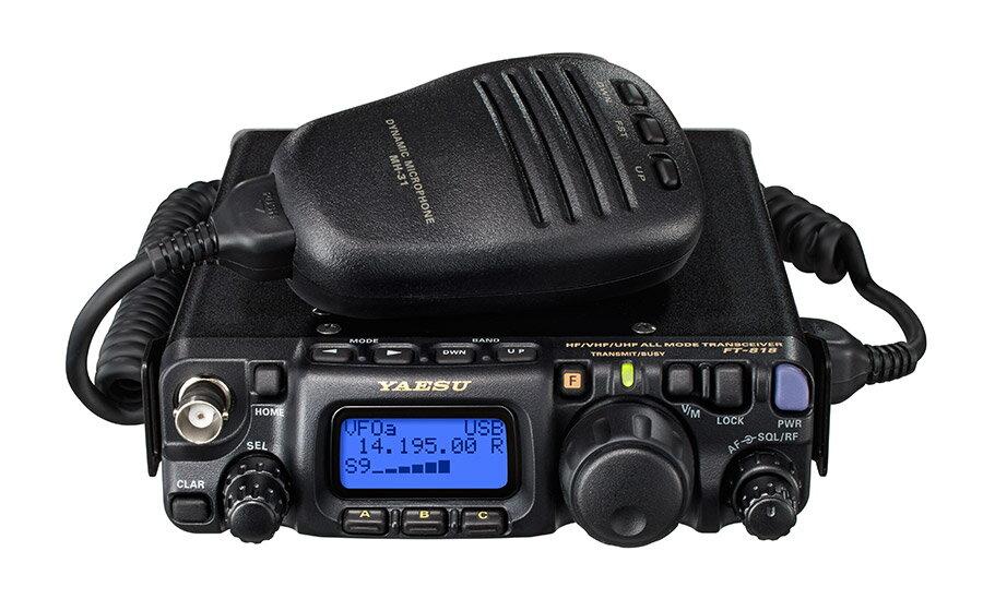 FT-818ND HF/50/144/430MHz帯オールモードトランシーバー ヤエス (八重洲無線)