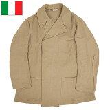 イタリア軍 フランネルシャツ 【ベージュ】 デッドストック