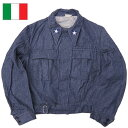Italian military denim Ike jacket new article [marathon201305_ point]