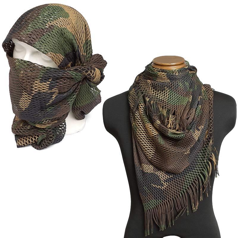 セール中 イタリア軍 メッシュ スカーフ デッ...の紹介画像2