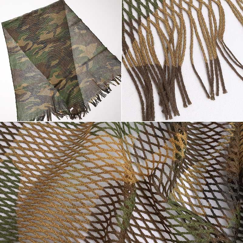 セール中 イタリア軍 メッシュ スカーフ デッ...の紹介画像3