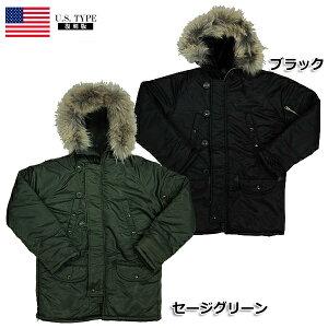 フライト ジャケット グリーン ブラック