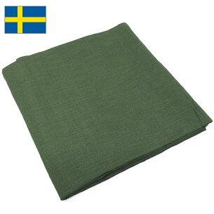スウェーデン コットン スカーフ オリーブ