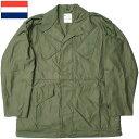 オランダ軍 NATO フィールドジャケット オリーブ デッドストック