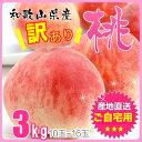 和歌山県産 訳あり 桃 もも 3kg(10玉~16玉)(1....