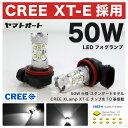 【CREE 50W】AZR60系 ヴォクシー [H13.11〜H19.5]50W LED フォグ ランプ HB42個セット 【CREE XT-E 採用】バルブ デイライト トヨタ 定番 スタンダードモデル 【10P19Dec15】