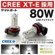 【CREE 80W】ZWR80系 ヴォクシーハイブリッド [H26.1〜]80W LED フォグ ランプ H162個セット 【CREE XT-E 採用】バルブ デイライト トヨタ 最上級 フラッグシップモデル