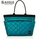 【AIGLE エーグル】 AUPS QUILTING TOTE L キルティングトートL ZNH099J トートバッグ ユニセックス 2020秋冬