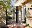 南欧風 アイアン 門扉 鋳物 フェアル3型 両開き 門柱タイプ 0710 三協立山