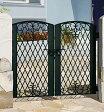門扉 門柱タイプ 鋳物 キャスモア1型 両開き アイアン 0712 三協立山