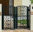 門扉 門柱タイプ 鋳物 キャスモア6型 両開き 0712 三協立山 アイアン ゲート