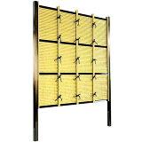 フェンス 庭 人工竹垣 みす垣E型 組立部材セット 基本型 H1800 目隠し フェンス 樹脂