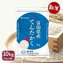 新米 富山県産てんたかく 10kg(5kg×2) 令和3年産 米 お米