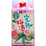 【5,000円以上送料無料】紀の司 紀州完熟梅酒 900ml 8度