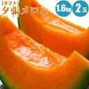 【お中元ギフト】夕張メロン1.6kg×2玉 / 共...