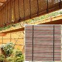 タカショー 「軒掛けスダレ」 すす竹 幅1800×高さ400mm 人工竹仕様 簾(すだれ)