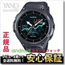 【クーポンでお得!24日09:59まで】カシオ スマートウォッチ WSD-F10 BK ブラック Smart Outdoor Watch アウトドア 5気圧防水 腕時計 ウェアラブル端末 WSD-F10BK 【正規品】【5sp】