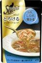 マース シーバアミューズ とろけるシーフードスープ お魚・しらす・蟹かま 40g
