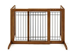 リッチェル 木製おくだけゲート ブラウン 送料無料!!大人気の木製ゲートです!