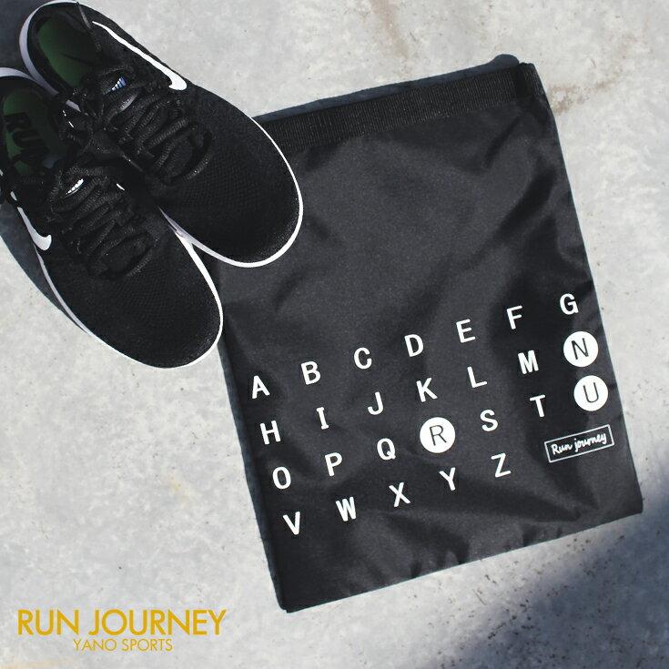 RUNJOURNEY シューズ袋 ランニング用品 バッグ ジョギング マラソン 靴袋 シューズケース ランジャーニー