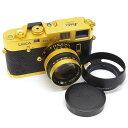 【中古】 ライカ M4-2 ゴールド SUMMILUX 50mm F1.4 セット GOLD LEICA 中古フィルムカメラ 06189