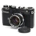 【中古】 ニコン SP ブラック Nikkor 5cm F1.4 セット Nikon 中古フィルムカメラ19126