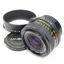 【中古】中古レンズ ミノルタ NEW MD 35mm F2.8 MINOLTA 17020 【カメラの八百富】【カメラ】【レンズ】