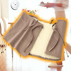 Sofwoolウエストウォーマー巻きスカートタイプS〜Lサイズ