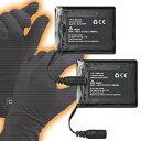 新型ほっかほっか手袋専用・別売り充電池(左右1組2個)『配送サイズ60』