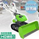 オーレック ガソリン式ミニ除雪機【除雪機 家庭用除雪機 小型除雪機 除雪器 雪かき スノーダンプ】