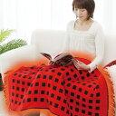 大判電気ブランケット【電気毛布 ホット毛布 電気毛布 電気膝掛け毛布 足温機 足温器】